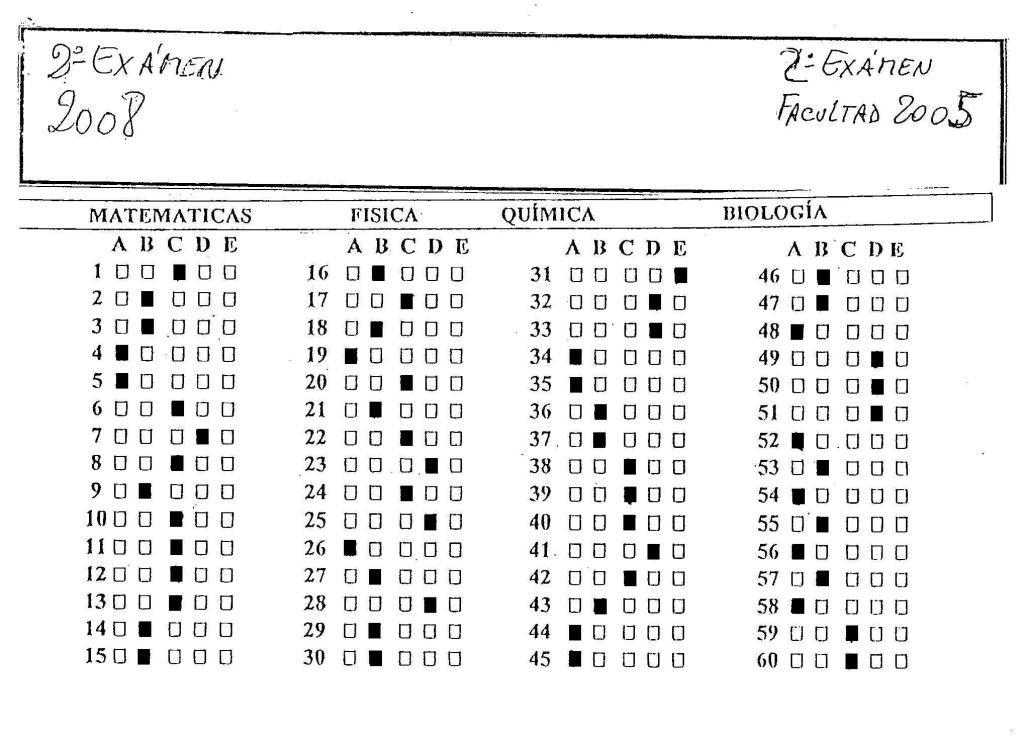 Modelos de Examenes - UNLP (Universidad Nacional de La Plata)